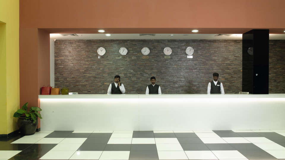 Reception Area of Wonderla Resort Bangalore
