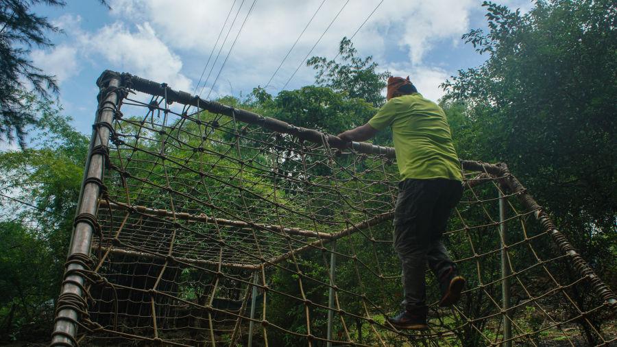 Net Climbing - Durshet 1