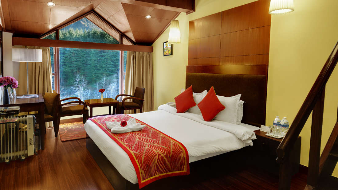 Quality Inn & Suites River Country Resort  Manali Duplex Suite Quality Inn Suites River Country Resort Manali 2