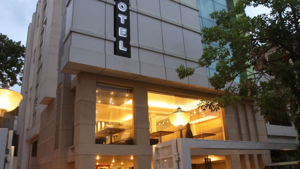 Emblem Hotel, New Friends Colony, New Delhi Delhi Facade Emblem Hotel New Friends Colony New Delhi