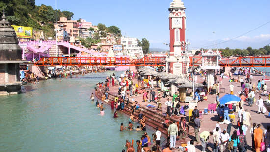 Ganga Lahari Haridwar Haridwar Haridwar Har Ki Pauri