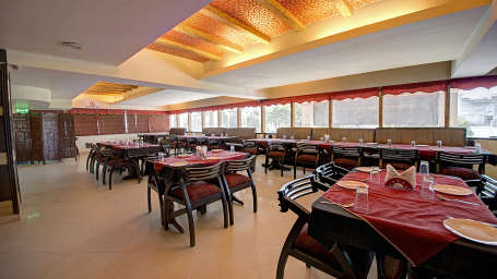 Restaurant at Hotel PR Residency Amritsar - Hotels in Amritsar