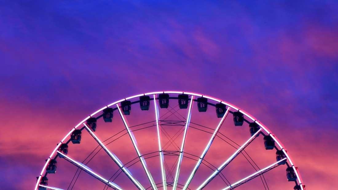 Black Thunder Water Theme Park - Ferris Wheel - Demo 7