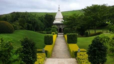 Garden view of fort jadhavgadh heritage resort hotel pune - resort near Mumbai
