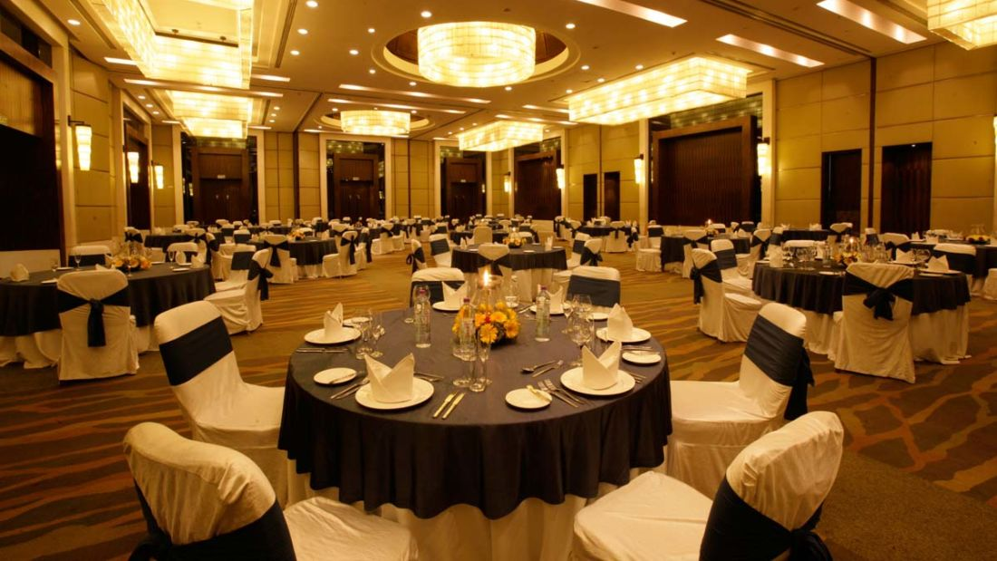The Grand Ball Room - Banquets and Meetings at The Grand Hotel New Delhi