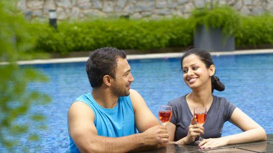 Swimming Pool at Wonderla Resort Bangalore