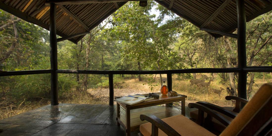 Cottages in satpura-Reni Pani Jungle Lodge in Madhya Pradesh  resort in satpura national park