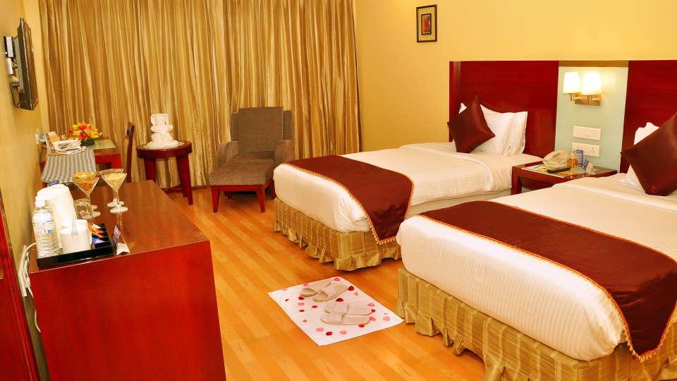 Deluxe Rooms, Gokulam Park Sabari, Rooms in Chennai