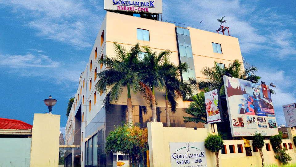 Facade, Gokulam Park Sabari, Chennai Hotels