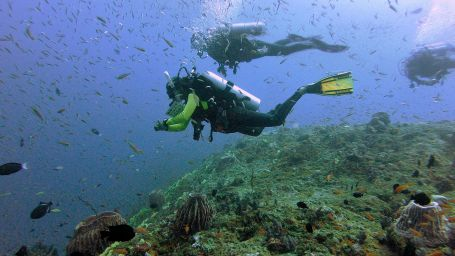 Scuba diving course in Andaman Photo by Avi Singh