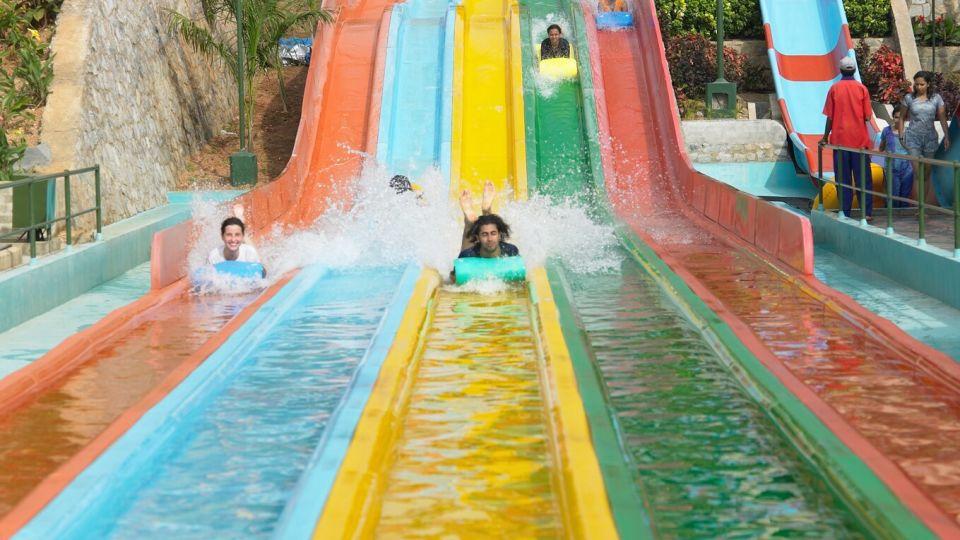 Water Rides -  Fun Racer at Wonderla Amusement Park Bangalore