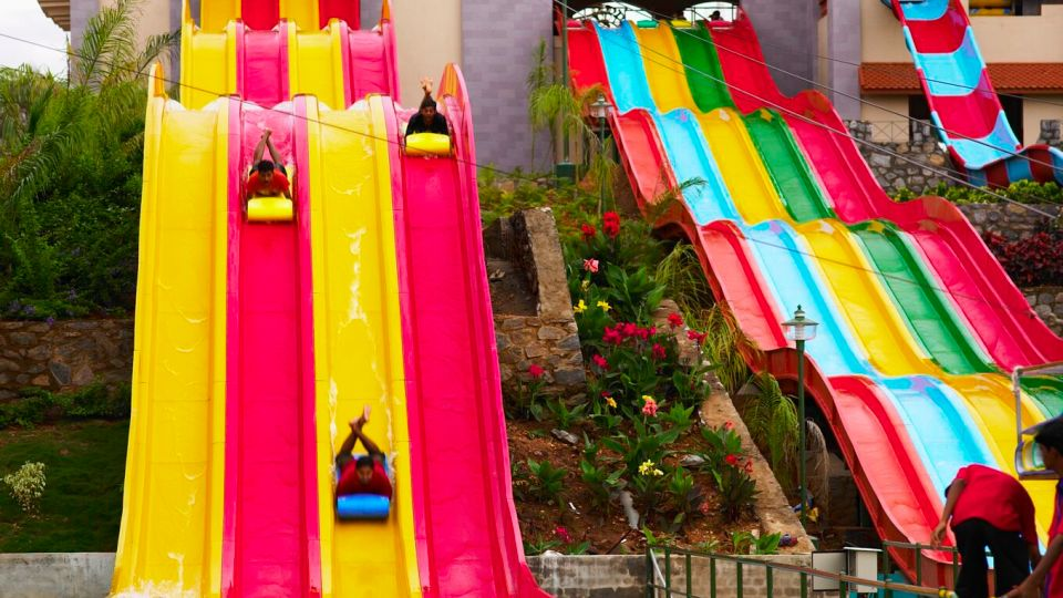 Water Rides - Uphill Racers at  Wonderla Amusement Park Bangalore