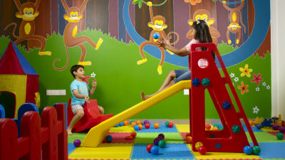 Kids Play Area at Wonderla Resort Bengaluru