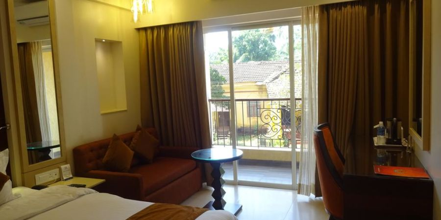 alt-text Premium Rooms 1 at AMARA GRAND INN CALANGUTE,  Rooms in Calangute, Goa Resort