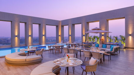 Terrace Lounge at Sarovar Junagadh 3