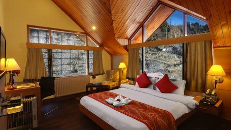 Renest River Country Resort  Manali 4 Bedroom Cottage