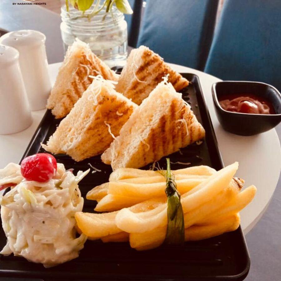 alt-text sandwich platter, best restaurants in ahmedabad