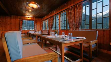 Restaurant at Summit Alpine Resort Lachung