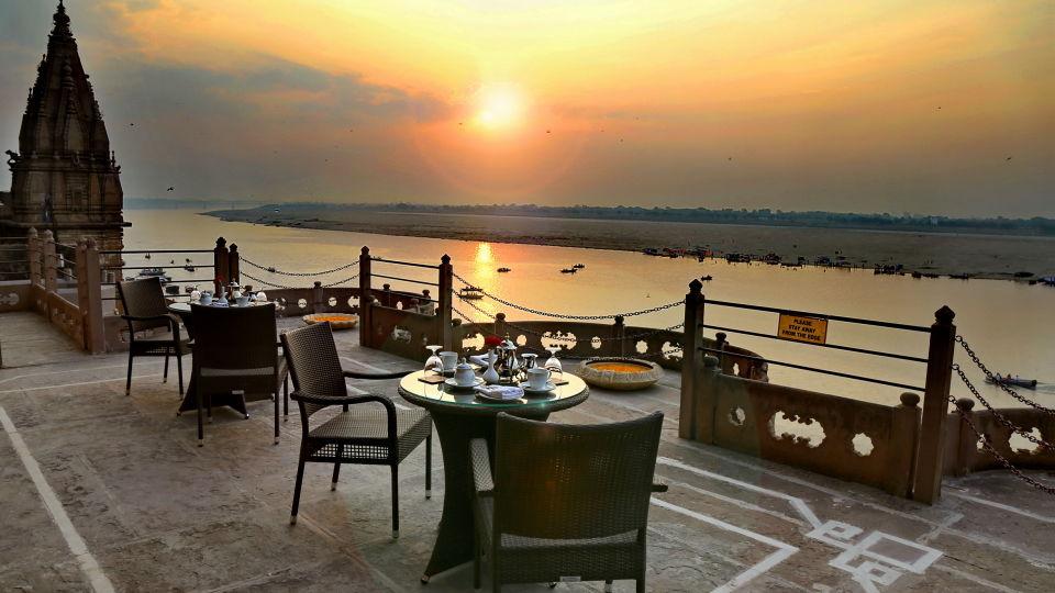 09. Morning Tea at Baithak Terrace