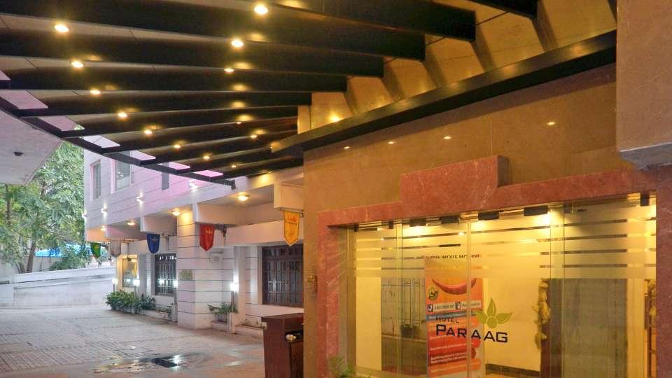 Hotel Paraag, Rajbhavan Road, Bangalore Bengaluru Porch Area Hotel Paraag Rajbhavan Road Bangalore
