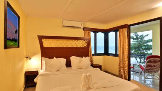 Rococco Ashvem, Mandrem, Goa Goa Deluxe Sea View Room Rococco Ashvem Mandrem Goa 2