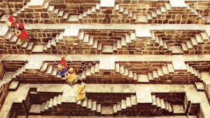 Nearby Attractions - Chand Baori - Steps