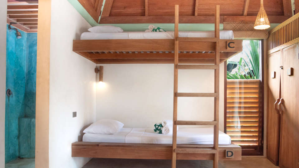 villas in Siargao, rent a villa in Siargao, houses for rent in Siargao, Siargao villasBravoBunkbeds-1