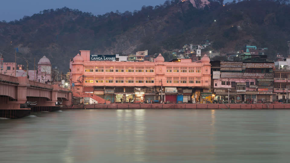Ganga Lahari Hotel, Haridwar Haridwar FINAL facade2