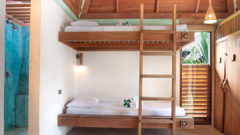 villas in Siargao, rent a villa in Siargao, houses for rent in Siargao, Siargao villasBravoBunkbeds-1