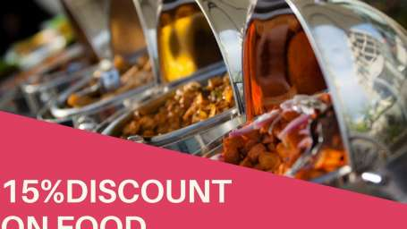 get discount on food 2