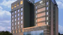 Facade view of Hotel Park Plaza, Faridabad - A Carlson Brand Managed by Sarovar Hotels, Hotels in Faridabad