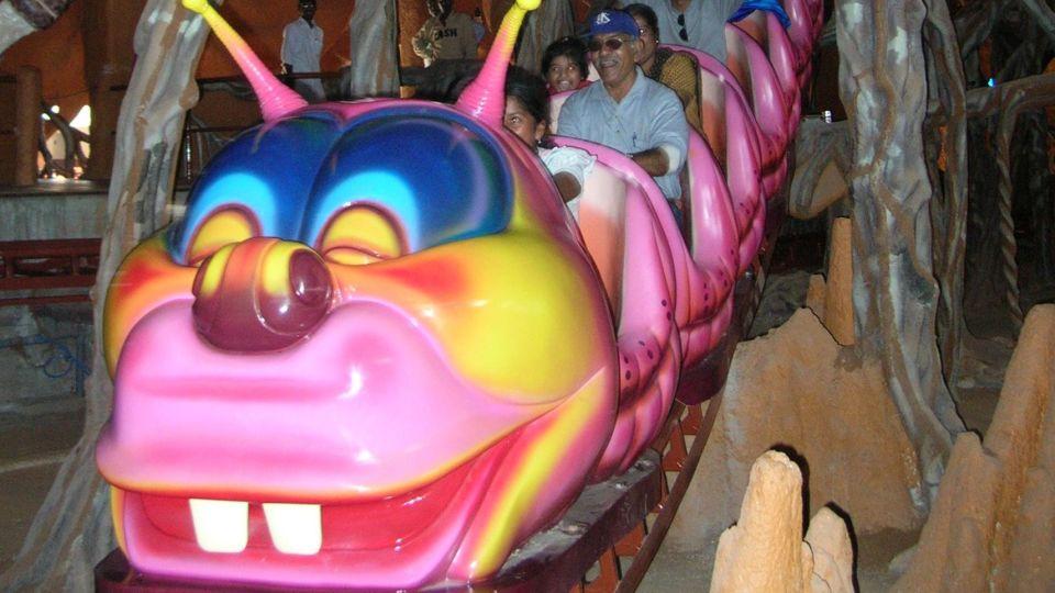Dry Rides - Gigantic Termite wonderla Amusement Park Bengaluru