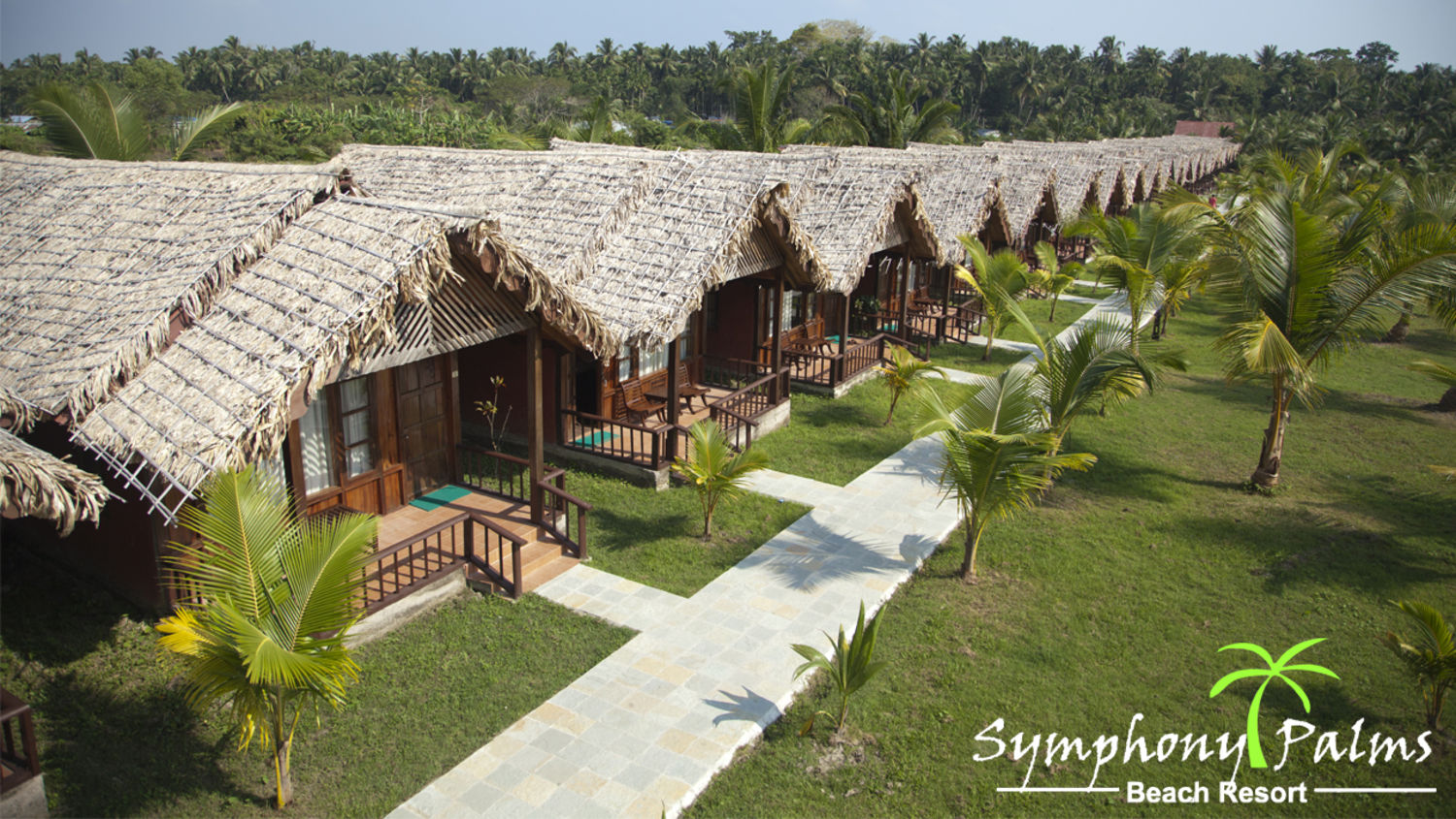 Cottage Exterior at Symphony Palms havelock island