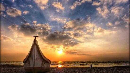 Marina Beach near Hablis Hotels Chennai