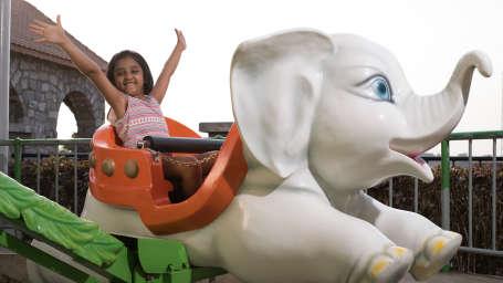 Kids Zone in Wonderla Bengaluru Wonderla Amusement Park in Bangalore Bangalore Park 6520FLYING JUMBO