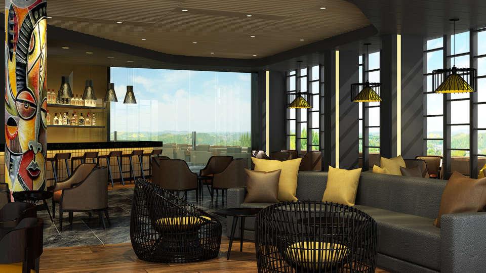 Neelkanth Sarovar Premiere Luxury Hotel in Lusaka Bar