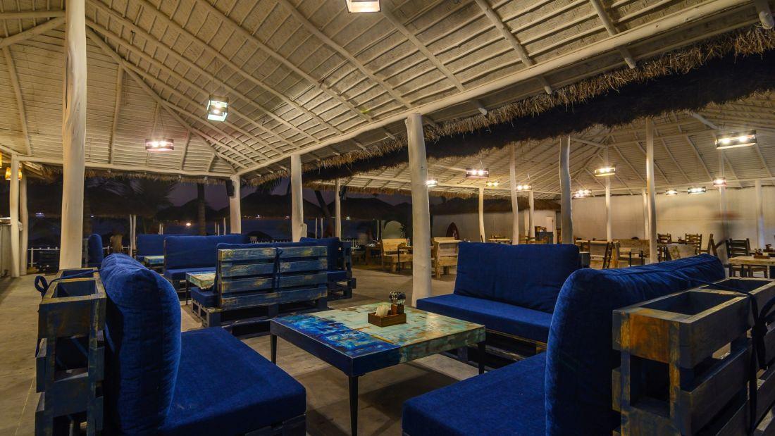 Trip Resto Bar at LaRiSa Beach Resort in Goa