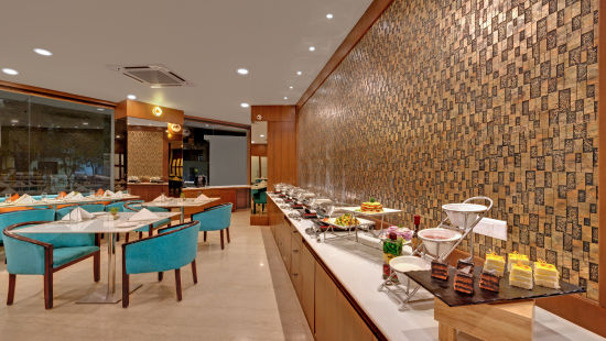 Avins Beacon Hotel in Udaipur Flavours - Buffett Display