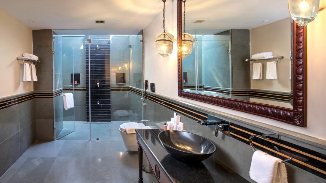Luxury Private Pool Villa Bathroo - B Side