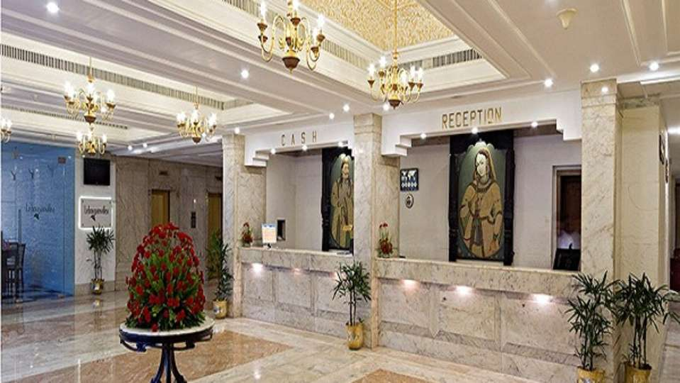 Reception at Clarks Avadh, hotel near gomti river in Lucknow, Luknow Hotel