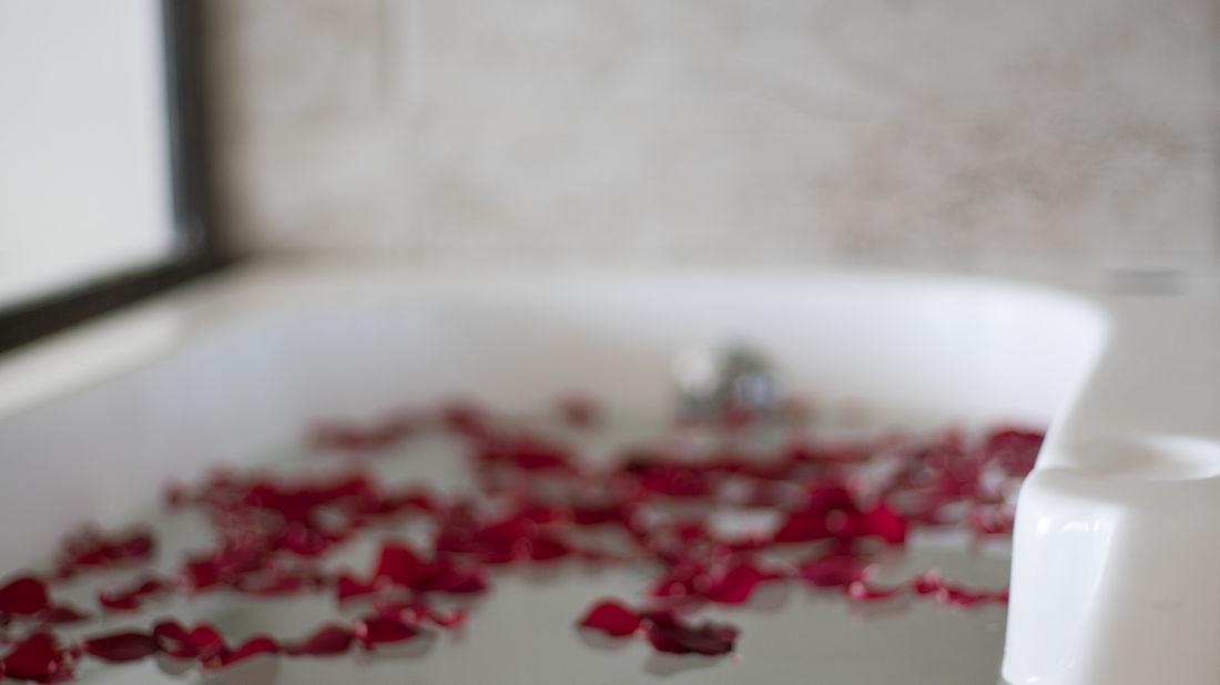En suite bathrooms at our resort in Cherrapunji, Stay in Cherrapunji- 29, Polo Orchid Resort, Cherrapunji-26