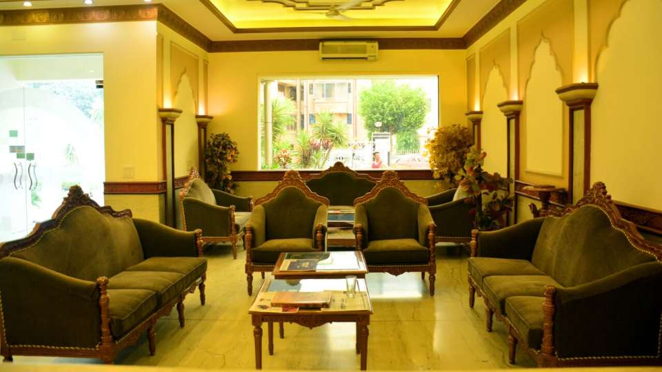 Reception 1 Hotel Vasundhara Palace Rishikesh Hotel near Rishikesh
