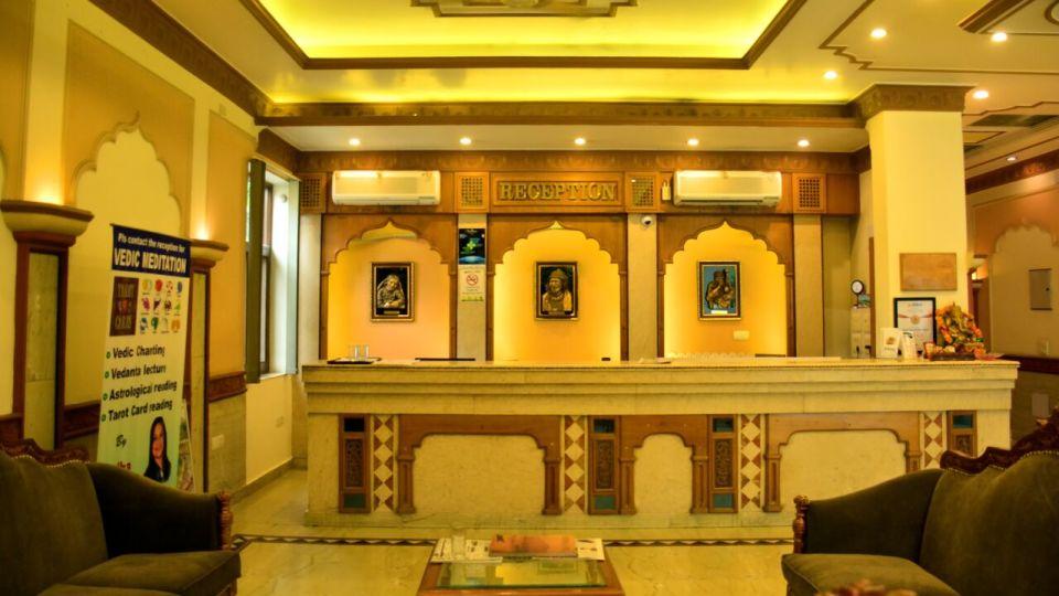 Reception 2 Hotel Vasundhara Palace Rishikesh Hotel near Rishikesh
