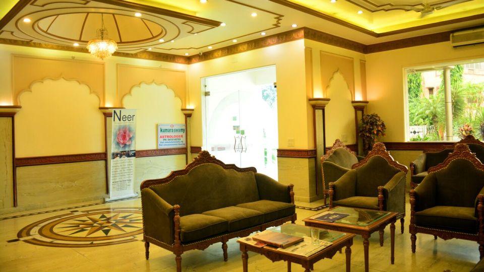 Reception Hotel Vasundhara Palace Rishikesh Hotel near Rishikesh