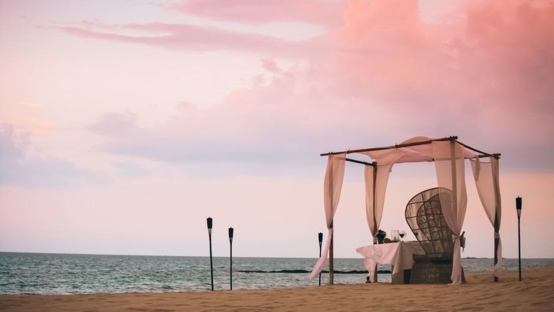 Beach Dining Natai Beach Resort Spa Phang Nga Thailand