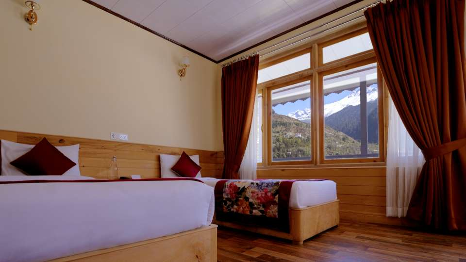 Deluxe Room at Summit Alpine Resort Lachung