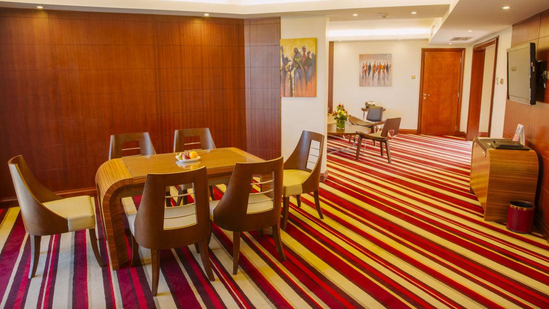 Presidential Living Dining Area, suite in Nairobi