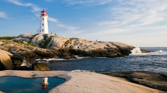 lighthouse-by-sea-against-sky-247506