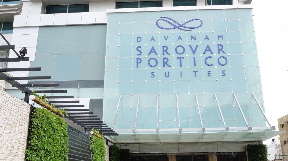 Facade at Davanam Sarovar Portico Bangalore,Hotels in Bangalore