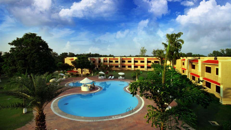 Hotel Clarks, Khajuraho Khajuraho Exterior Hotel Clarks Khajuraho 5